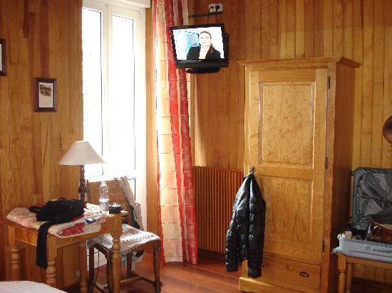 Hotel Des Bains : Chambre