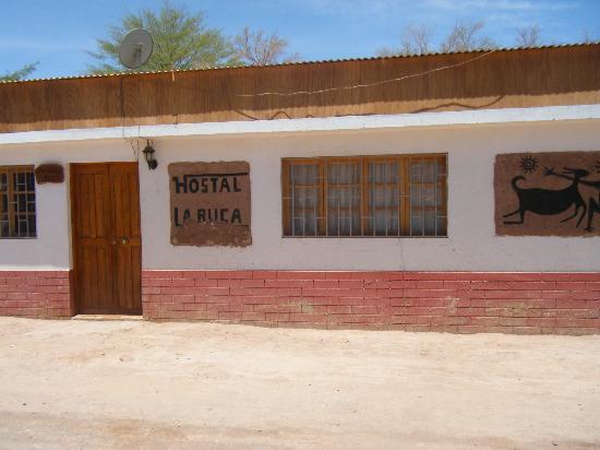La Ruca Hostal: Front of Hostel