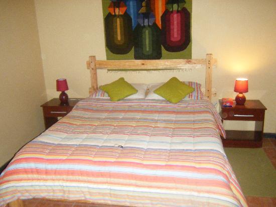 La Ruca Hostal: Bedroom