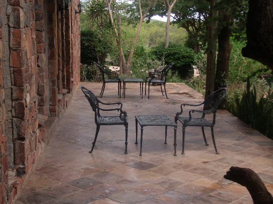 Mokolodi House: Private Patio