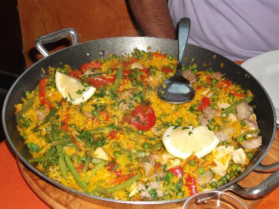 คอร์ซิโก, อิตาลี: La paella di carne!!!