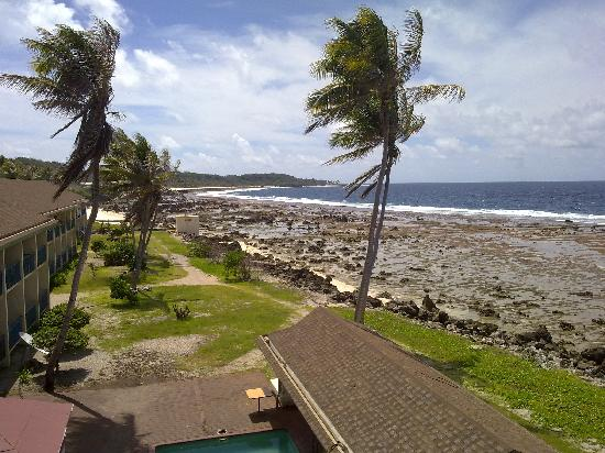 Nauru: View from room