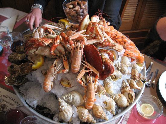 La Marie Galante: plateau fruits mer