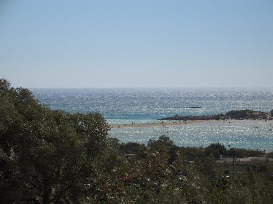 Hotel Areti Megala Horafia: Spiaggia di Elafonissi