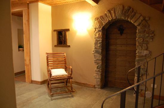 Maison Tissiere hotel et cuisine: ingresso spa