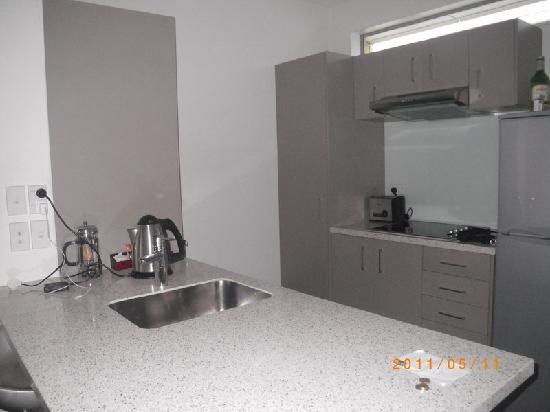 Wellington: Boulcott Suites:kitchen