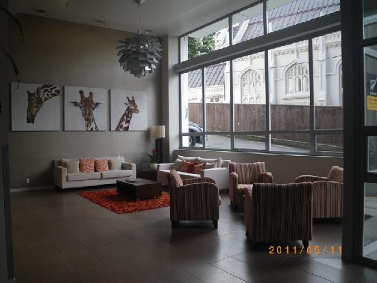 Wellington: Boulcott Suites:lobby