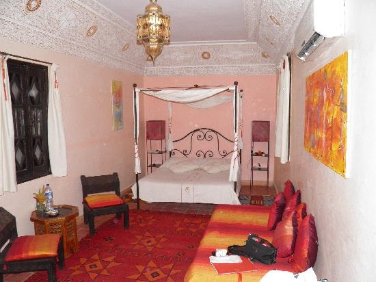 Riad Nomades: une chambre