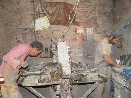 Riad Nomades: un des ateliers