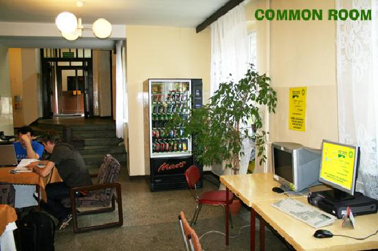 Dizzy Daisy Poznan Hostel: Common area
