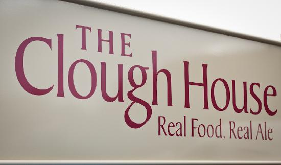 The Clough House: Signage