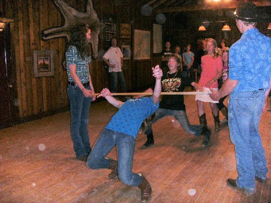 Tarryall River Ranch - TEMPORARILY CLOSED: Dancing the limbo
