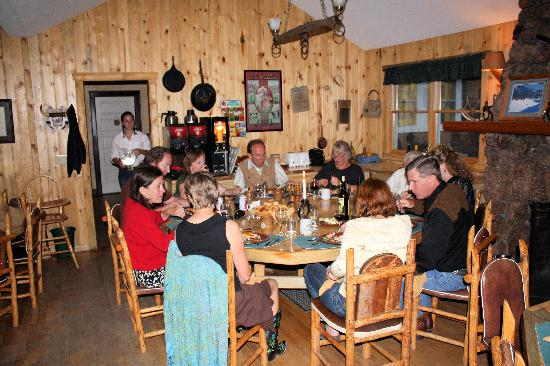 Tarryall River Ranch - TEMPORARILY CLOSED: Excellent dinner