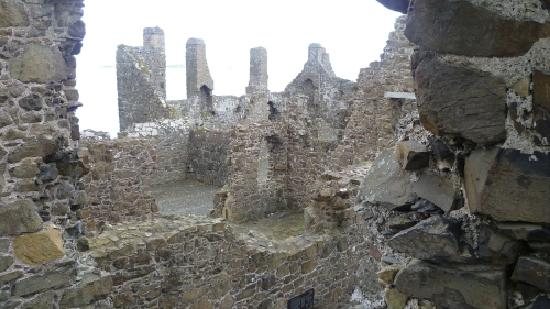 Portrush, UK : Ruin Castle Inside