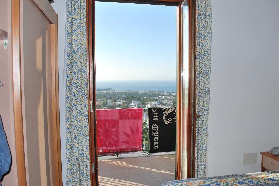 Hotel La Capannina: vista panoramica dalla stanza