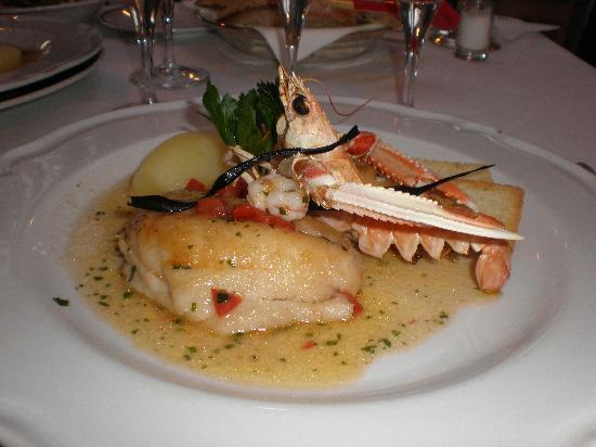 Il Moresco Hotel: A typical main course