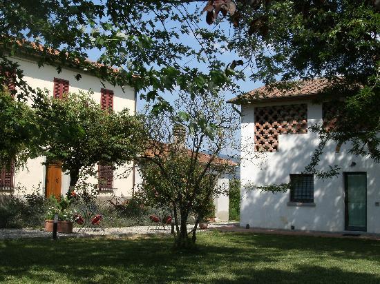 Agriturismo Spazzavento: Un jardin reposant