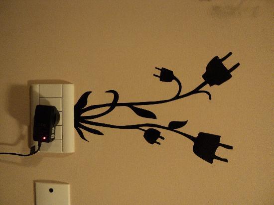 Backpacker's City: Decorados super originales de las paredes del BK Suites