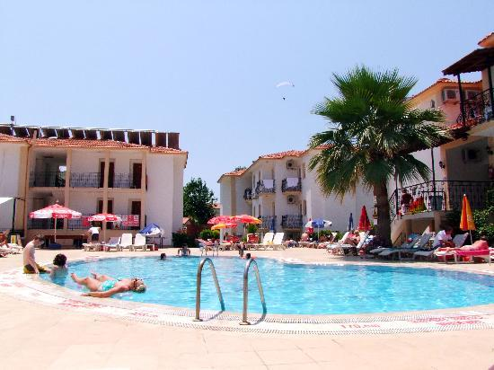 Karbel Beach Hotel: pool view