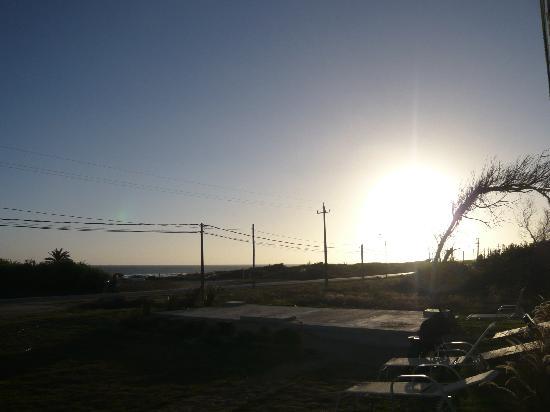 Zen Boutique Apart Hotel: Vista playa Anaconda  desde el Zen