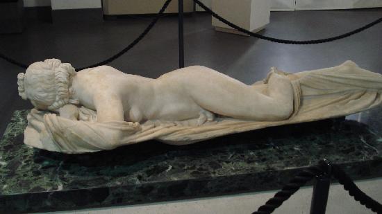 Museo Nazionale Romano - Palazzo Massimo alle Terme: Hermaphrodite endormi.