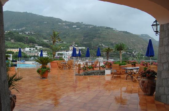 Hotel Belvedere: Терраса отеля