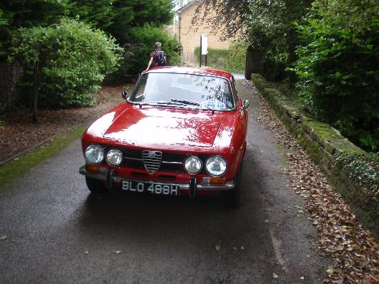 East Ayton Lodge: The Presidents Choice Alfa Romeo GTJ