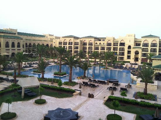 Mazagan Beach & Golf Resort: View of inner courtyard from my room
