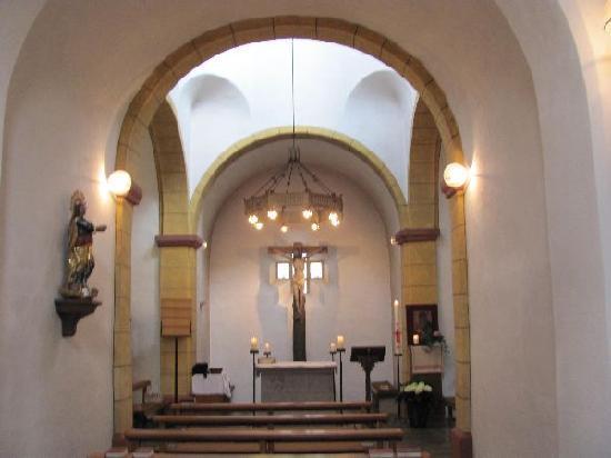 Heiligkreuz-Kapelle: interior