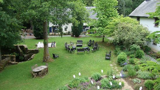 Les Forges du Pont d'Oye : le jardin