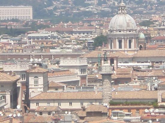Hotel Nazionale: VIEW FROM VICTOR EMANUELLE II ROOFTOP
