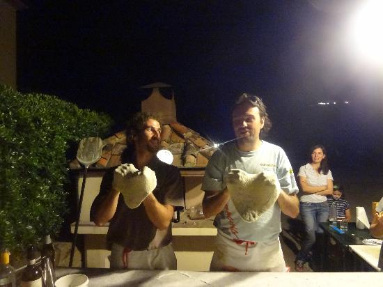 Lamporecchio, Italy: Stefano and Paul - meaningful performance