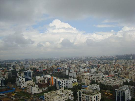 The Westin Hyderabad Mindspace: view from top