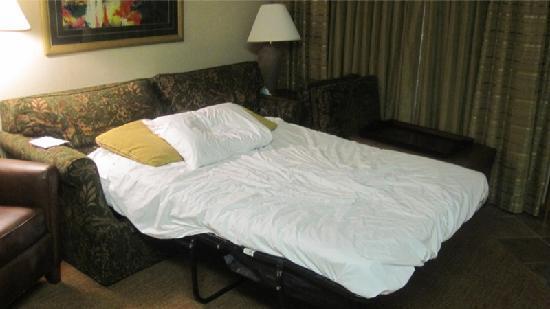 sofa cama no Homewood Suites Orlando - Hilton