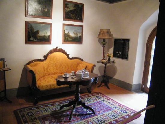Castello del Roccolo : salottino