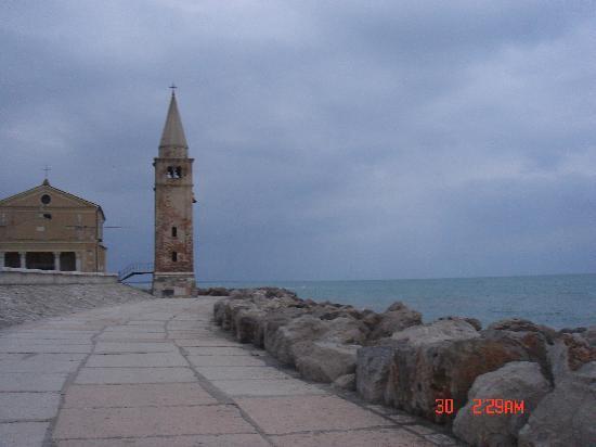 Venedig, Italien: lungomare di Caorle