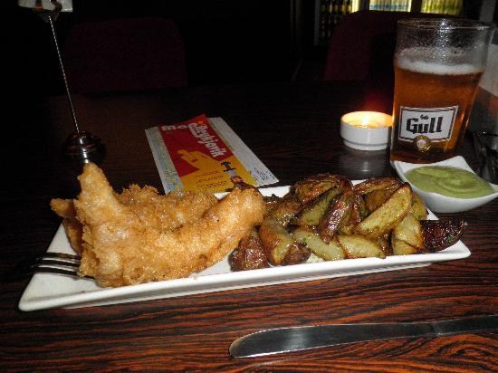 Fish and chips and beer picture of icelandic fish for Fish and beer