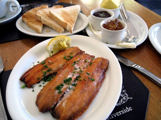The Riverside: Riverside Breakfast kippers