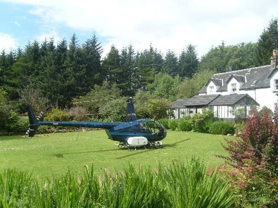 The Brander Lodge Hotel & Bistro: The view from our room.