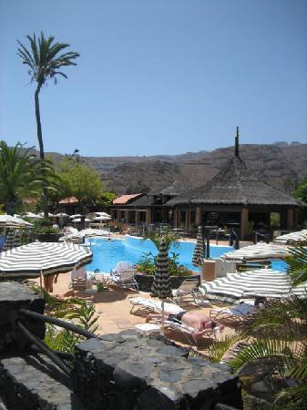 Piscina picture of hotel jardin tecina playa de for Aparthotel d or jardin de playa