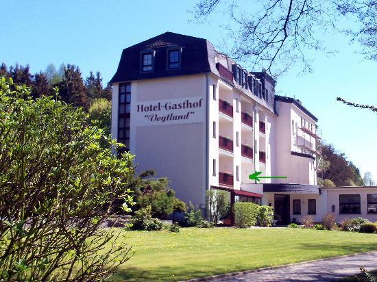 Hotel Vogtland: Hotelansicht von hinten