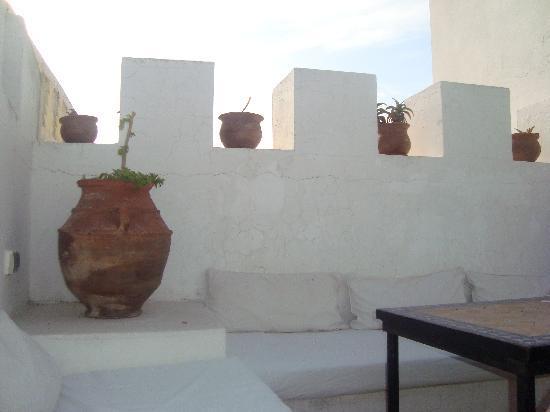 Riad Lalla Mogador: La terrasse