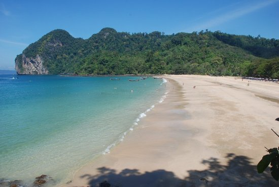 Ko Muk, Thailand: Beach were we are located