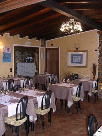 Cellatica, Olaszország: Campiani sala ristorante