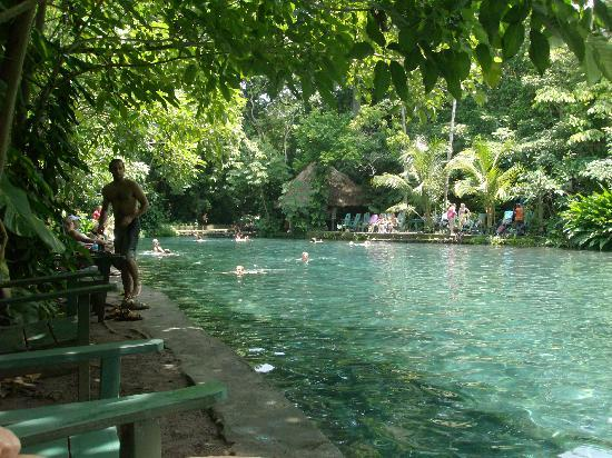 Ojo de Agua : Great place to cool off