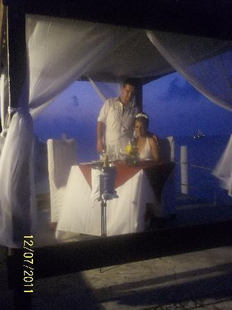 Hotel Dos Playas Beach House: mi cena romantica todo increible!