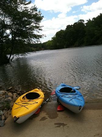 Catherine's Landing, an RVC Outdoor Destination: Kayak Rentals