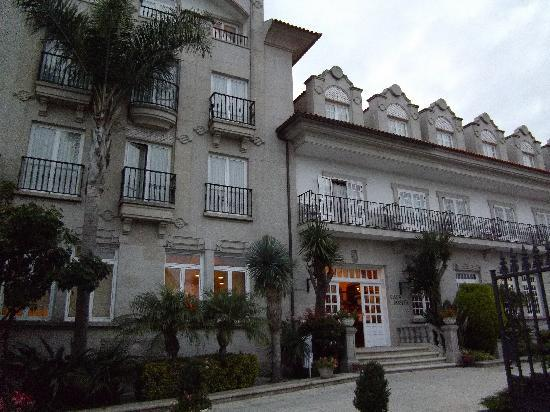 Cambados, España: Entrada al hotel