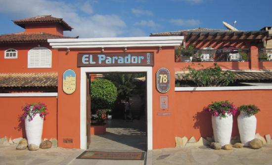 El Parador Pousada: Entrance
