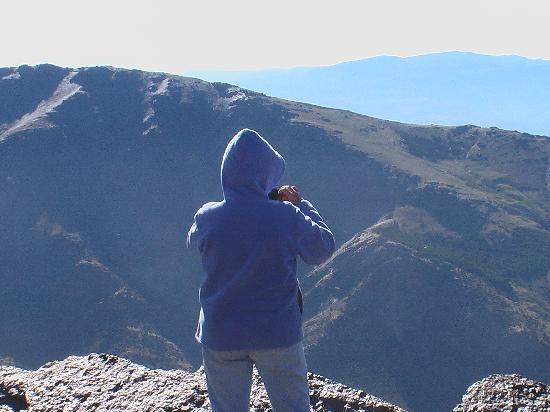 El CastaNar Nazari: Vistas desde el Mulhacen